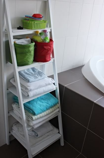 bath towel storage ideas 1