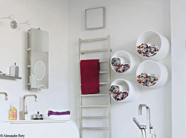 Organize your bathroom 25 towel storage ideas little - Idee deco pour salle de bain ...