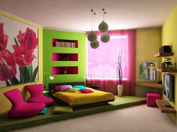 vivid home decor