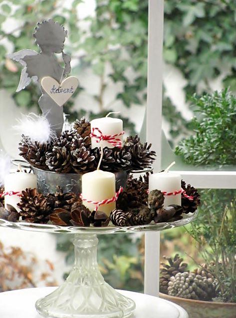 Christmas candle decoration ideas 5