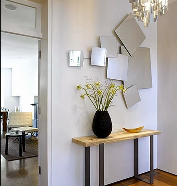 mirror on wall ideas