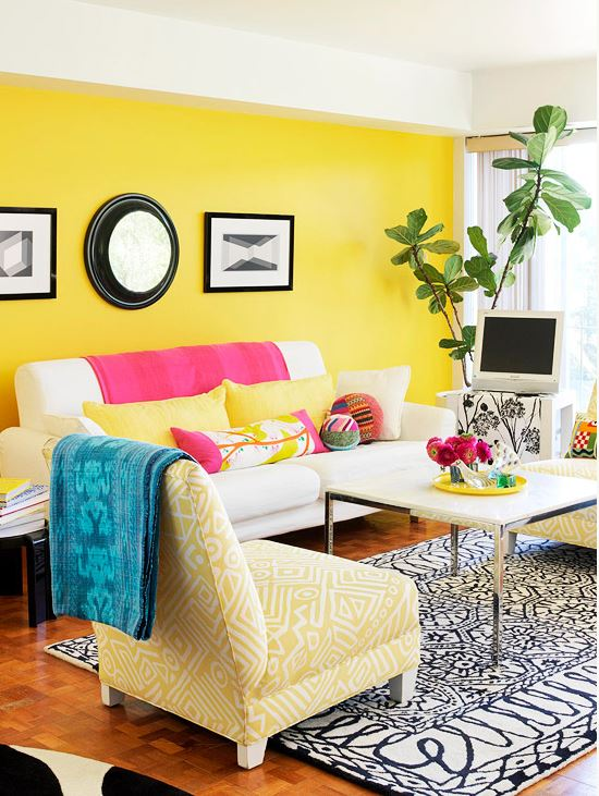 colorful home decor 1