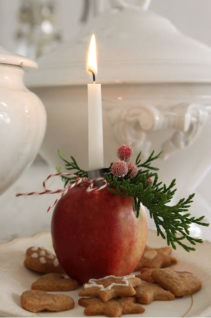 Christmas candle decoration ideas 7