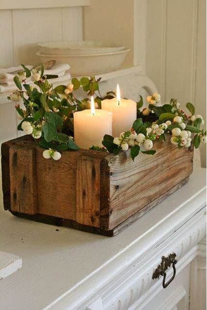 Christmas candle decoration ideas 6