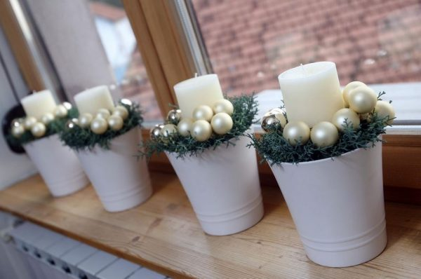 Christmas candle decoration ideas 1