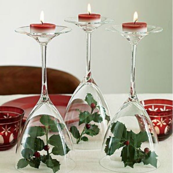 Christmas candle decor ideas