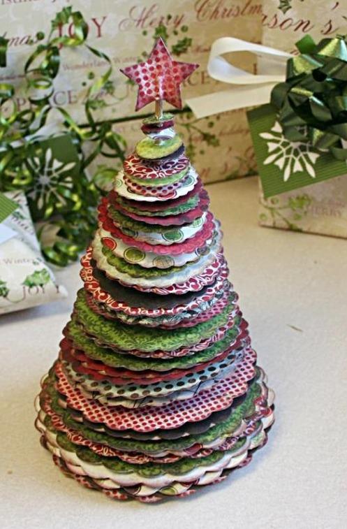 stylish christmas trees