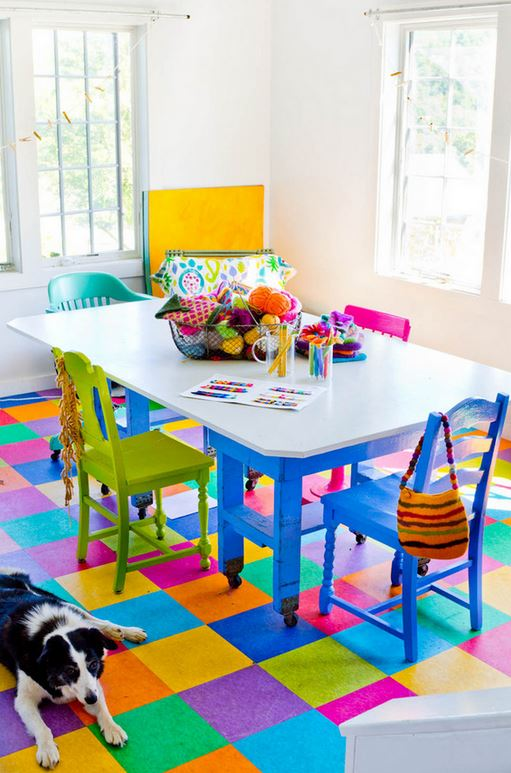 colorful home decor 7