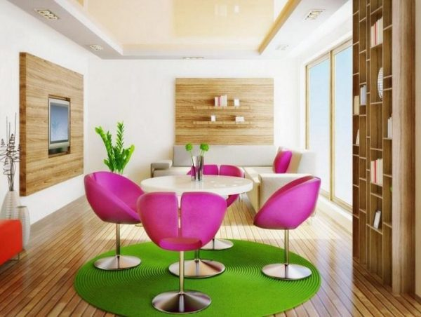 colorful home decor