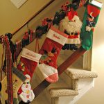 How to decorate a staircase for christmas
