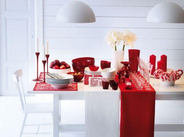 christmas table setting 3