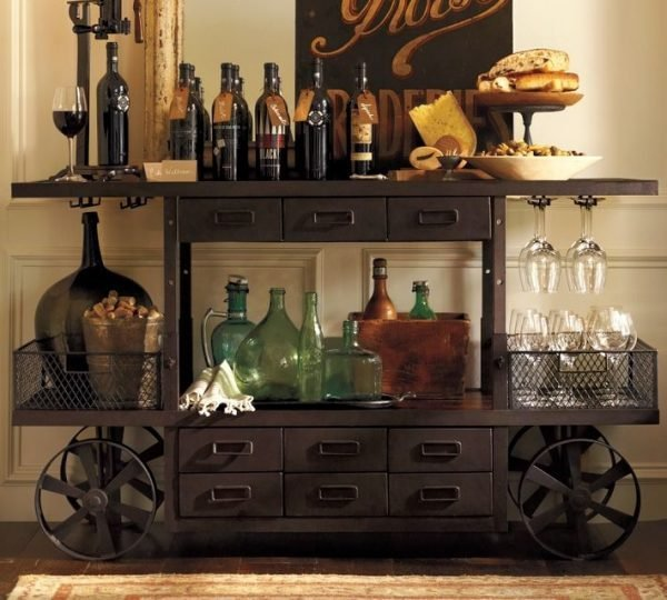 Creative home mini bar ideas little piece of me for Mini bar decorating ideas