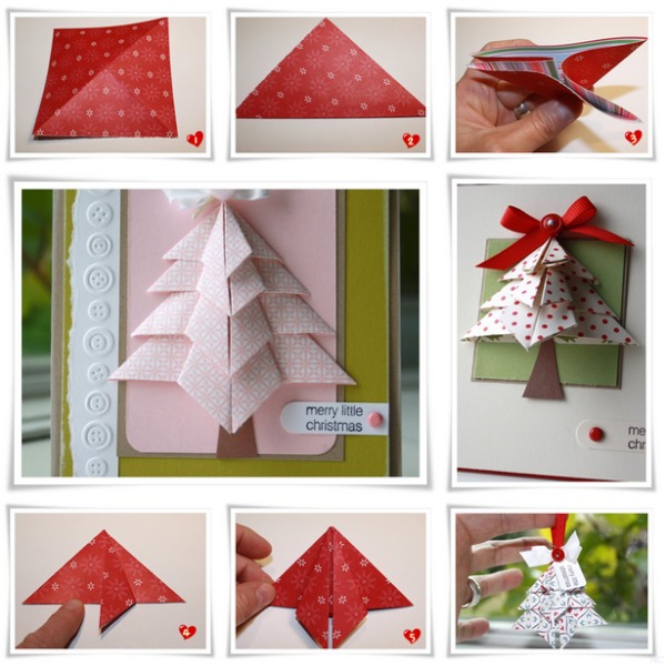 free christmas card making ideas
