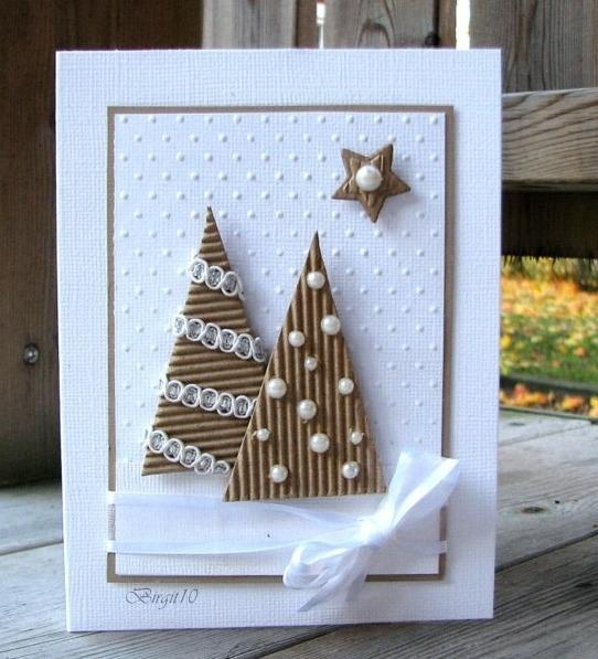 Homemade Christmas cards ideas