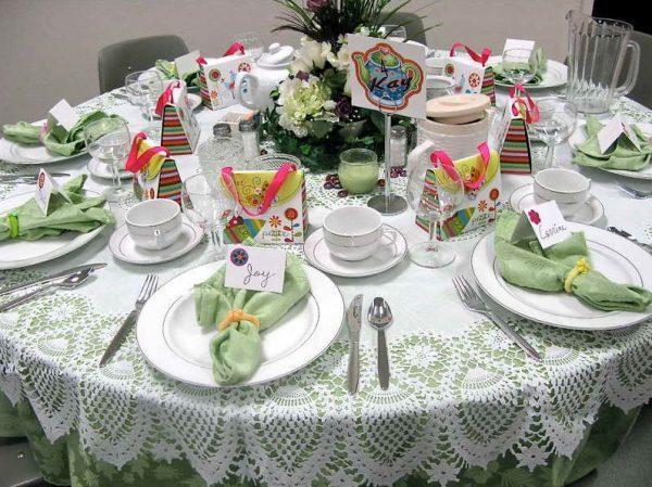 christmas table setting 4