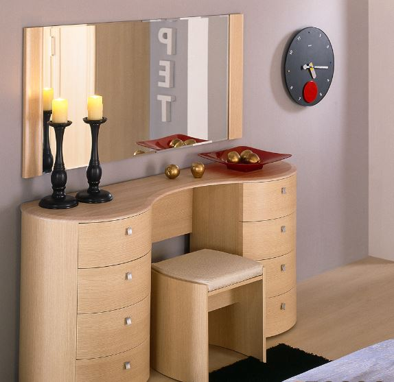 modern dressing table with mirror 1