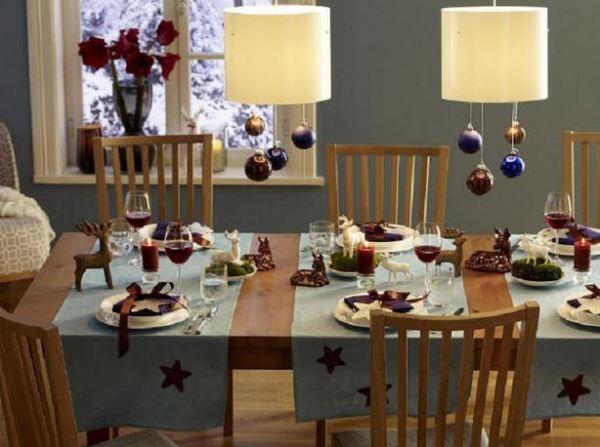 christmas table decor 1