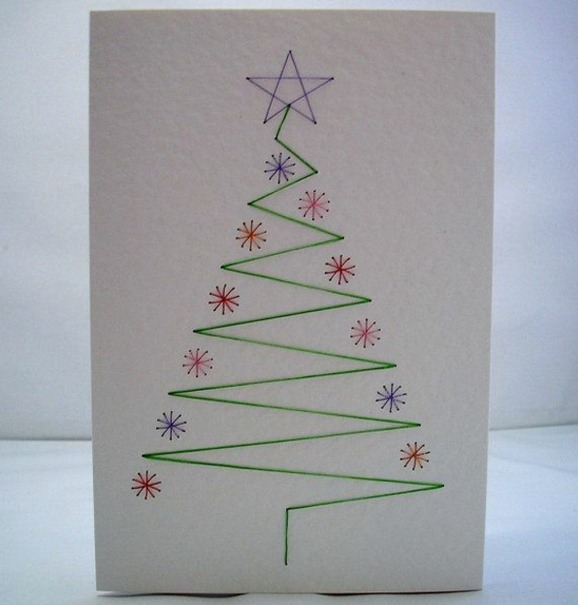 unique handmade christmas cards