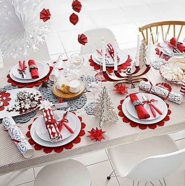 christmas table setting 1
