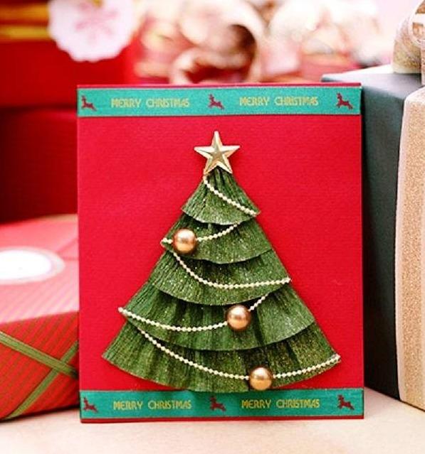 Homemade christmas cards ideas