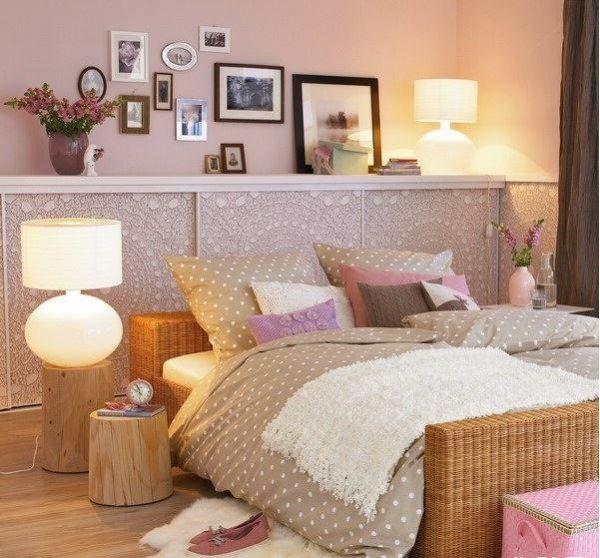 shelf above bed