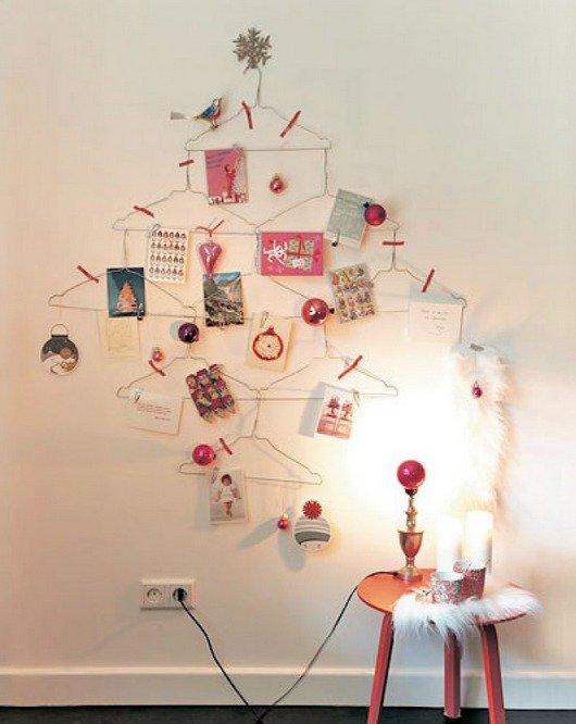 create a christmas card display 2