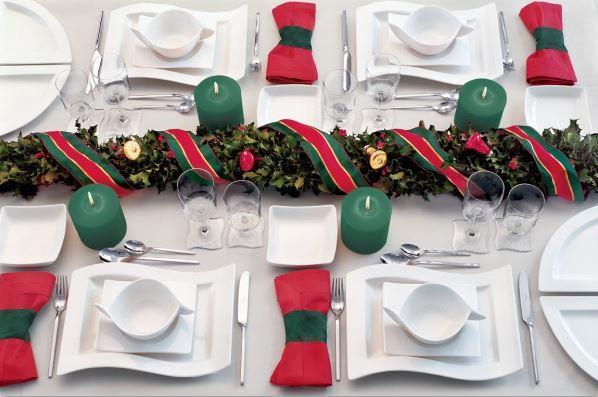 christmas table setting 2