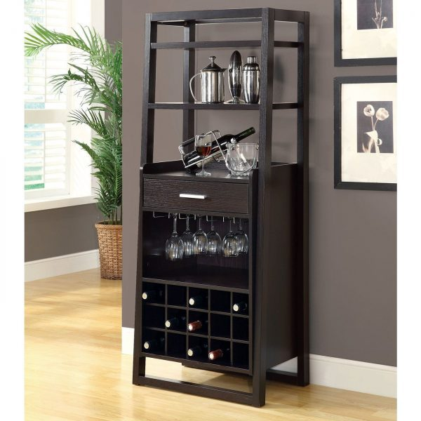 outstanding-mini-bar-idea-wth-multipurpose-for-wine-rack