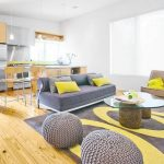 12 Gray and yellow living room ideas