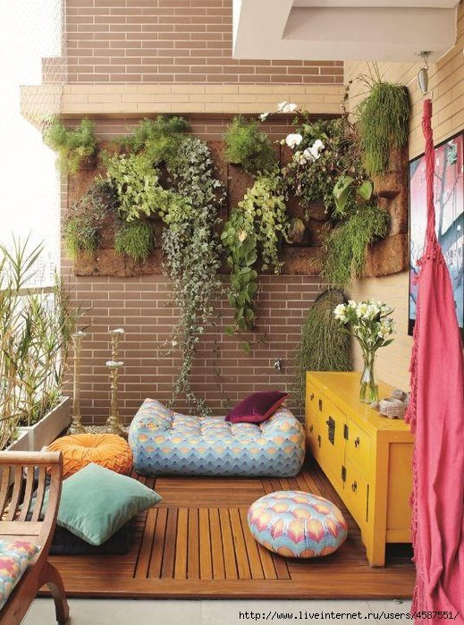 DIY Balcony Vertical Garden Ideas - Little Piece Of Me
