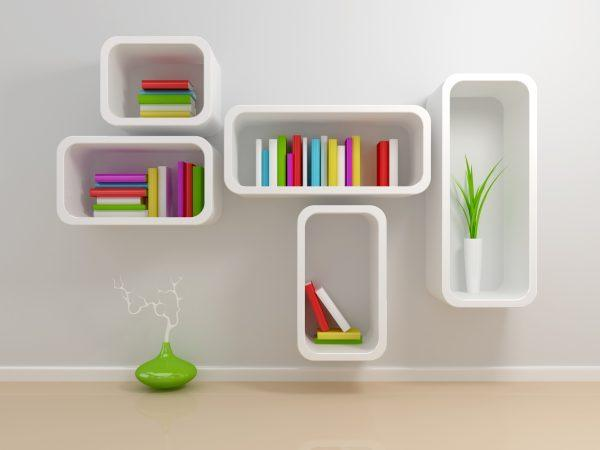 Unusual and creative bookshelf designs