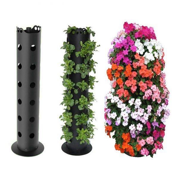 flower-tower-freestanding-planter