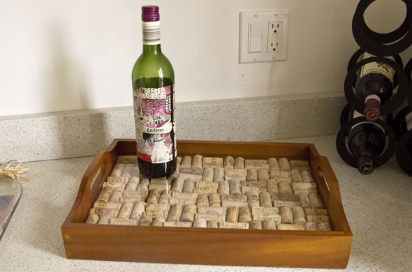 Craft Ideas For Wine Bottles And Corks
