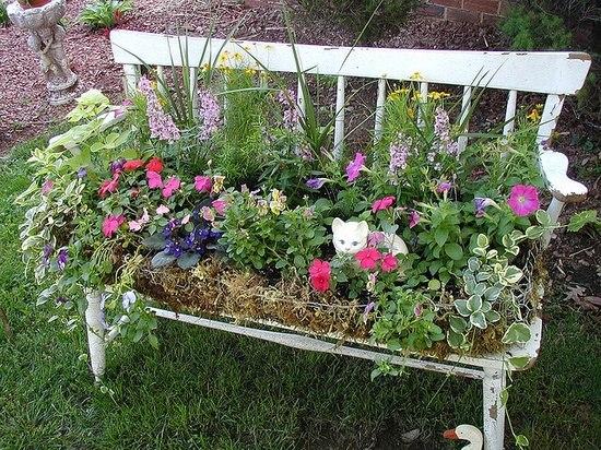 Vintage garden decor ideas little piece of me - Pinterest gartenideen ...