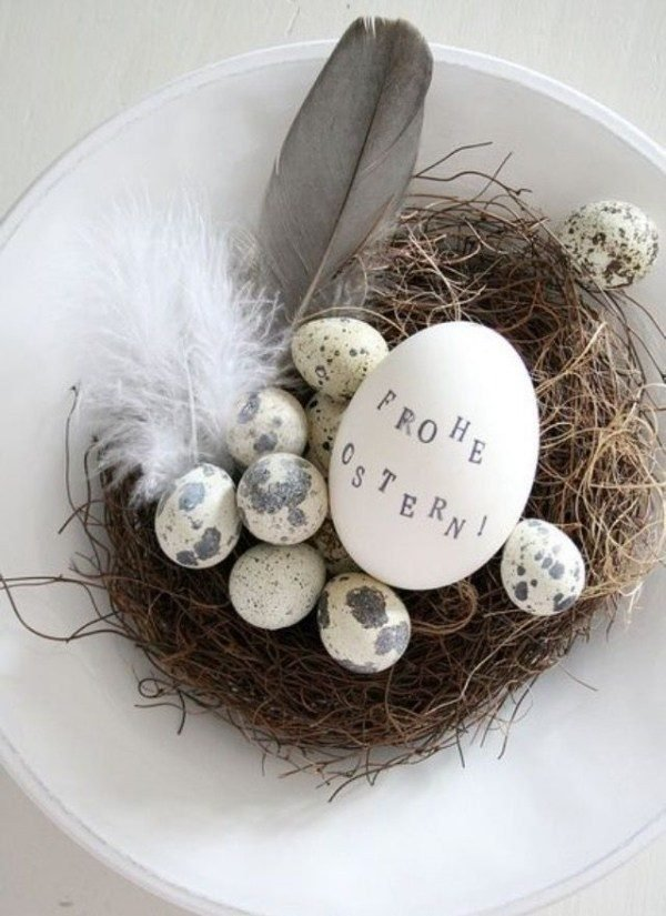 Diy Easter Decor In Scandinavian Style Little Piece Of Me