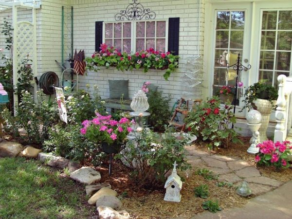 rustic garden decor ideas