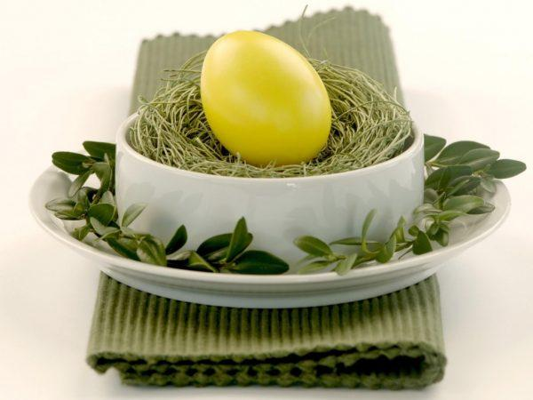 Natural Easter egg dyes decorating ideas