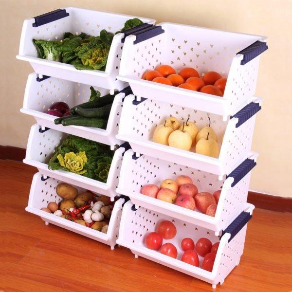 Rangement Fruits Et Légumes: Fruit And Vegetable Storage Ideas