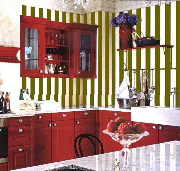 How to paint stripes on walls