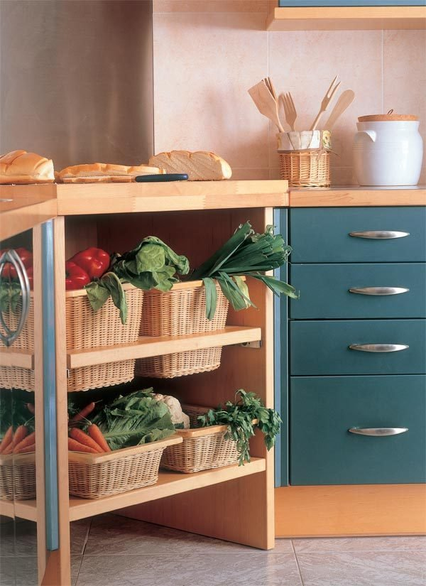 fruit and vegetable storage ideas