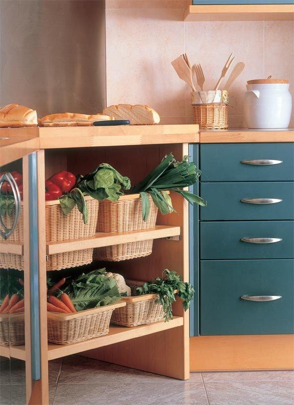 Kitchen Vegetable Storage Ideas