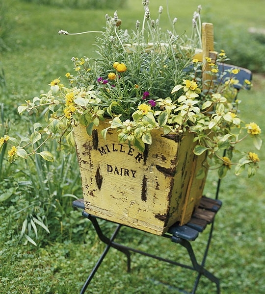 vintage garden decorating ideas 1