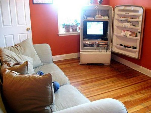 recycling old refrigerators