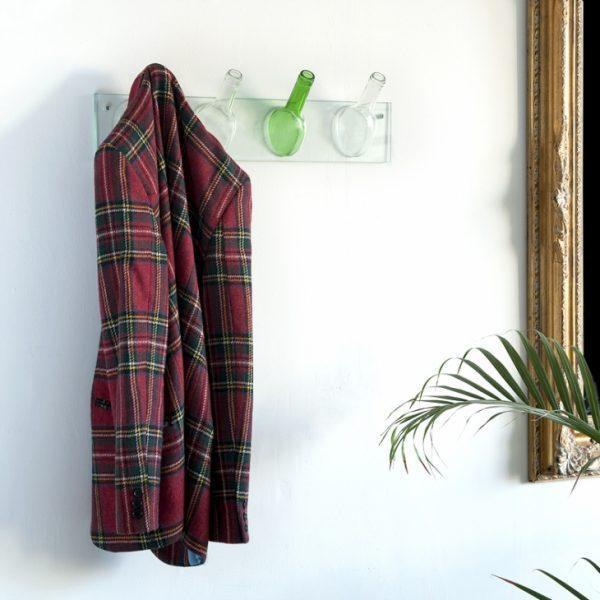 diy hanging clothes rack 1