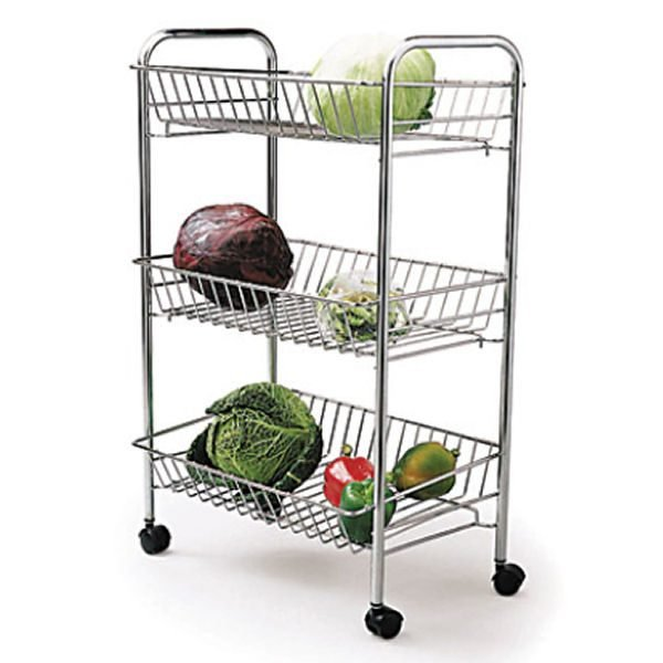 vegetable storage trolley kitchen fruit and vegetable storage ideas of me 6755