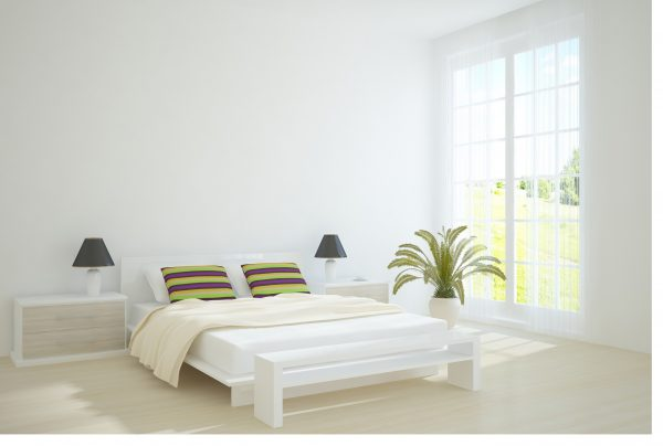White bedroom design ideas little piece of me for Small bedroom designs images