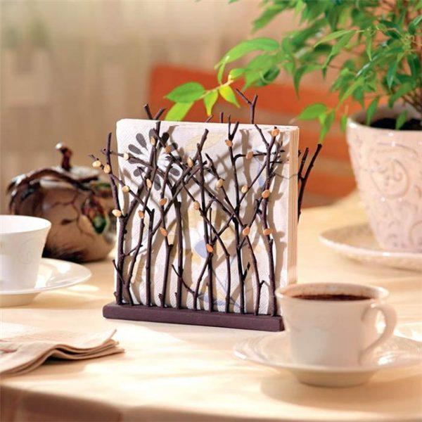 Diy napkin holder ideas little piece of me for Hobby legno fai da te