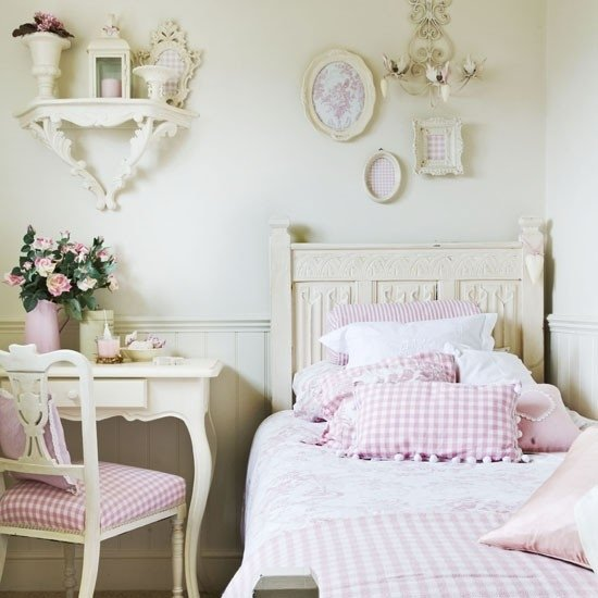 ideas for shabby chic bedroom