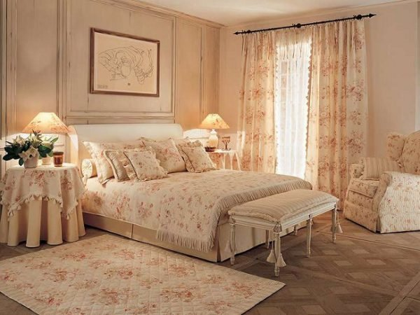 shabby chic bedroom designs