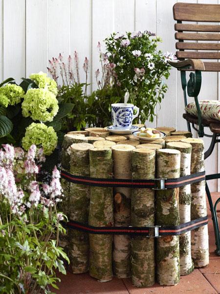 DIY garden furniture ideas